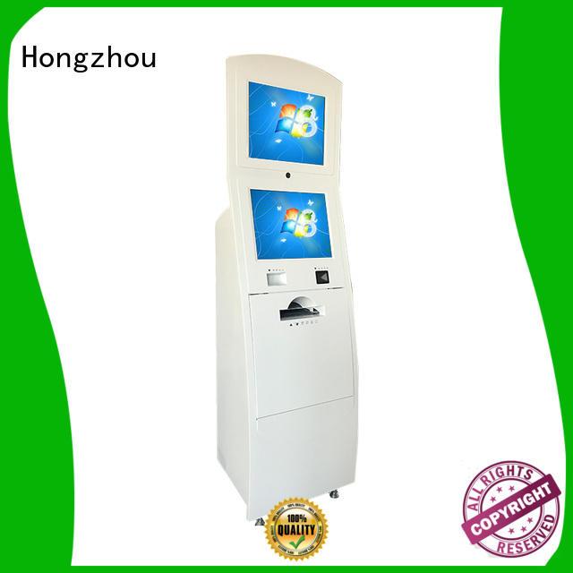 Hongzhou touch screen digital information kiosk for busniess for sale