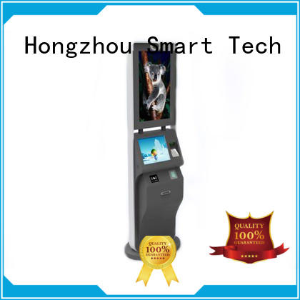 capacitive self service ticketing kiosk factory on bus station