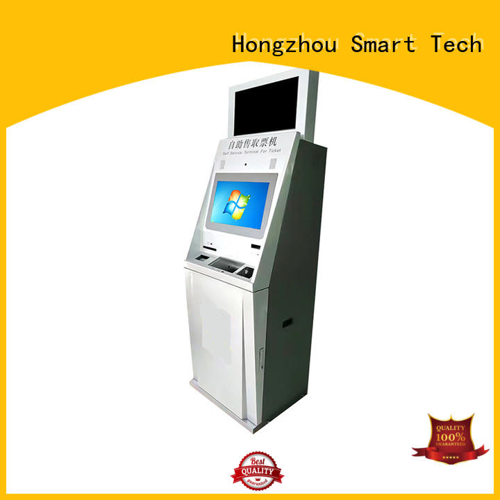 Hongzhou self service ticketing kiosk manufacturer for sale