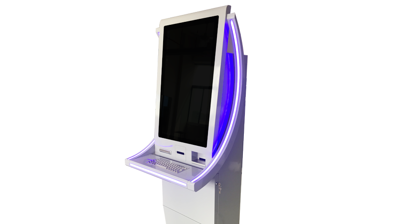 Hongzhou windows system automated payment kiosk keyboard in hotel-3