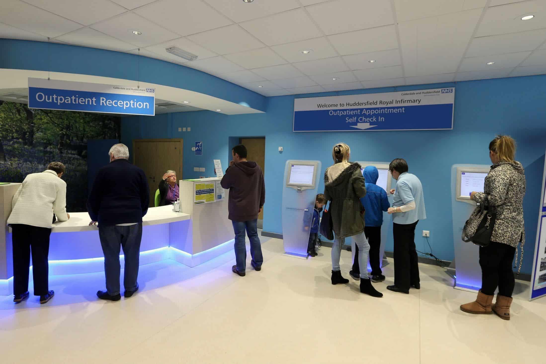 new hospital kiosk board for sale-1