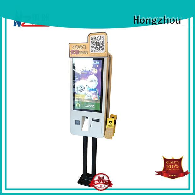 Hongzhou custom self service kiosk supply for business