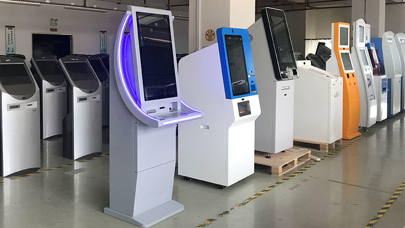 Hongzhou bill payment machine dispenser in bank