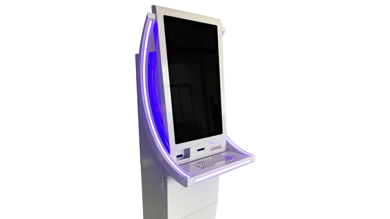 Hongzhou windows system automated payment kiosk keyboard in hotel-4
