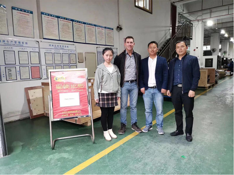 Welcome New Zealand SCE Group Mr.Gary Brown visit Hongzhou