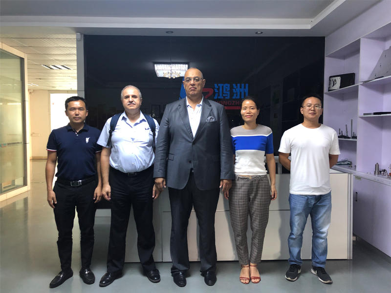 26th Sep. 2019 Welcome United Arab Emirates customer Samer and Majdi visit our factory