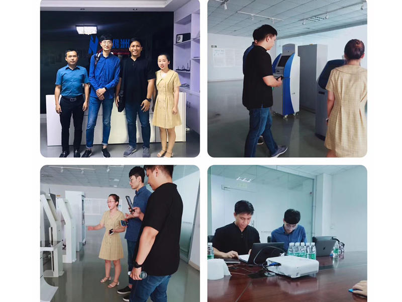 3th Sep. 2019 Welcome Philippine customers Mr Charles and Mr Roy to visit  our factory