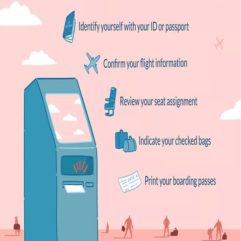 Hongzhou best self service ticketing kiosk with printer in cinema-1