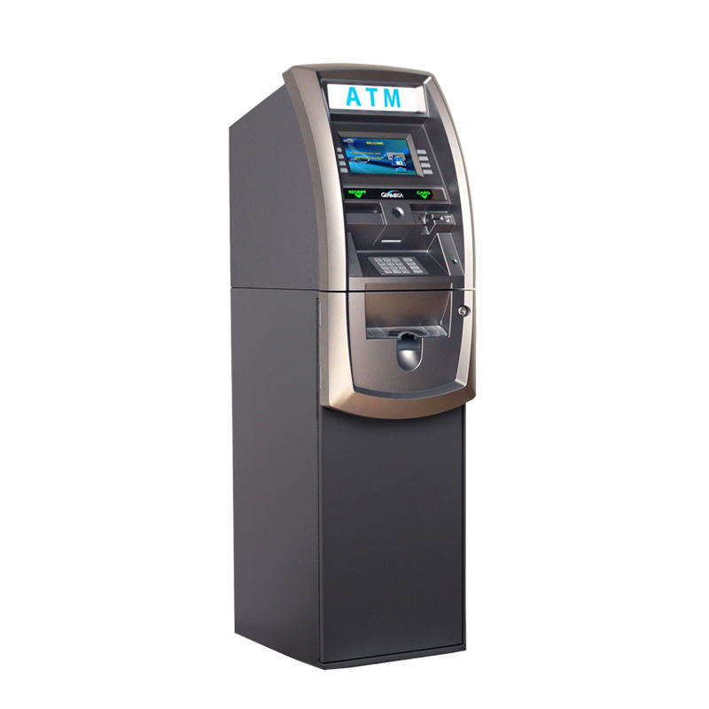 Hongzhou professional currency exchange kiosk with logo for bill payment