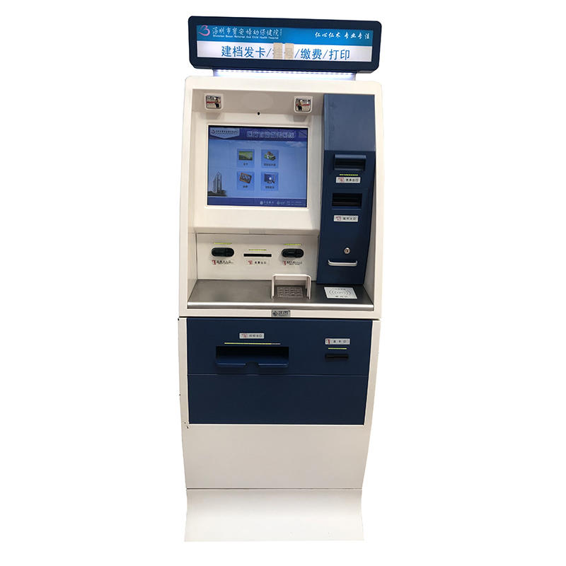 Self sevice payment & report printing kiosk in Hospital