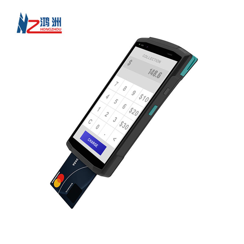 Android Handheld POS Terminal Camera Scan 1D & 2D QR Code Support