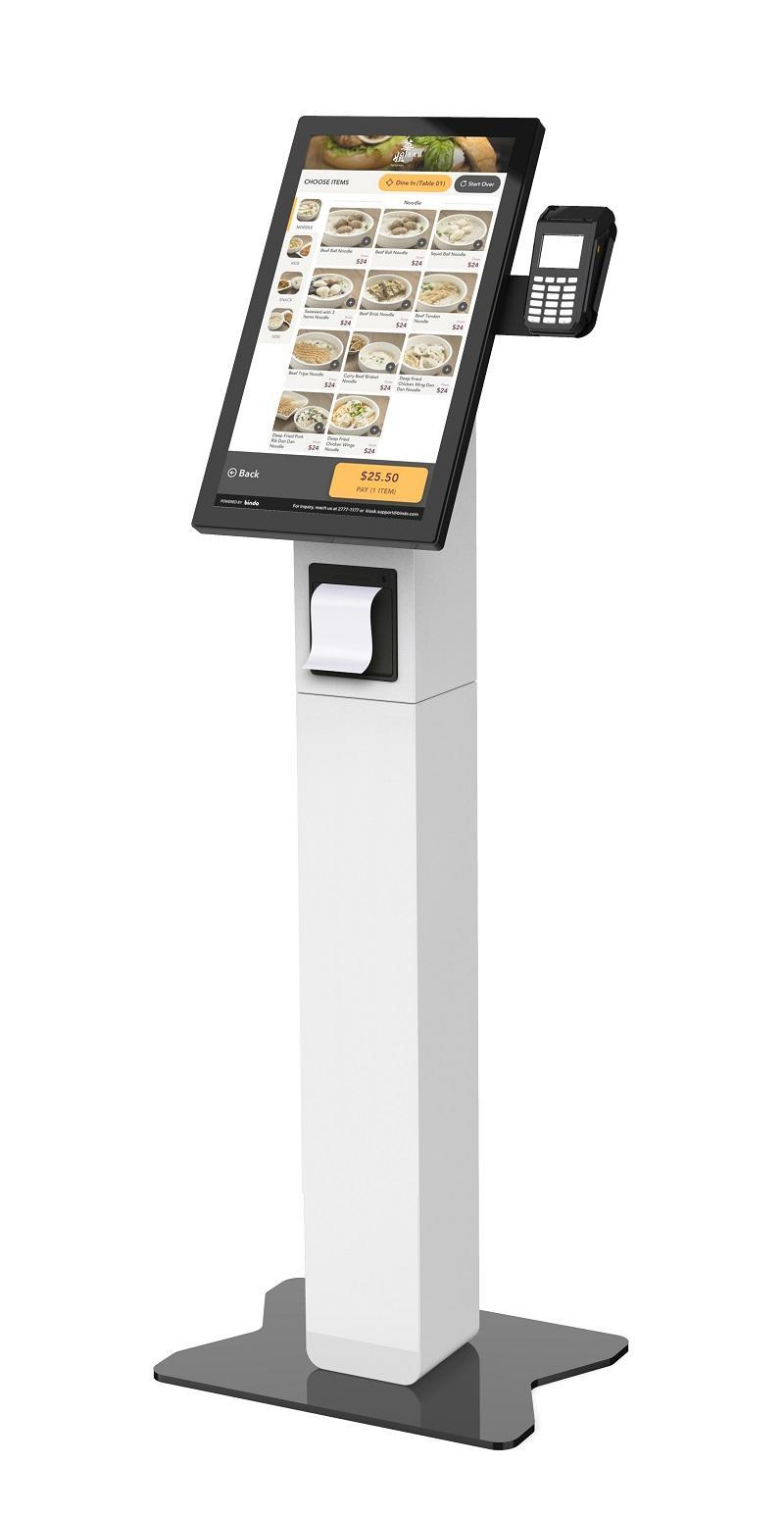 Restaurant self servie ordering kiosk