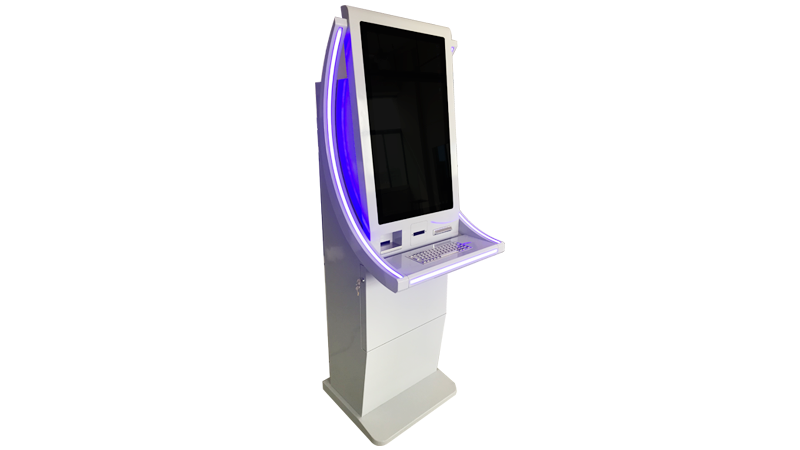 Hongzhou wall mounted bill payment kiosk coated for sale-2