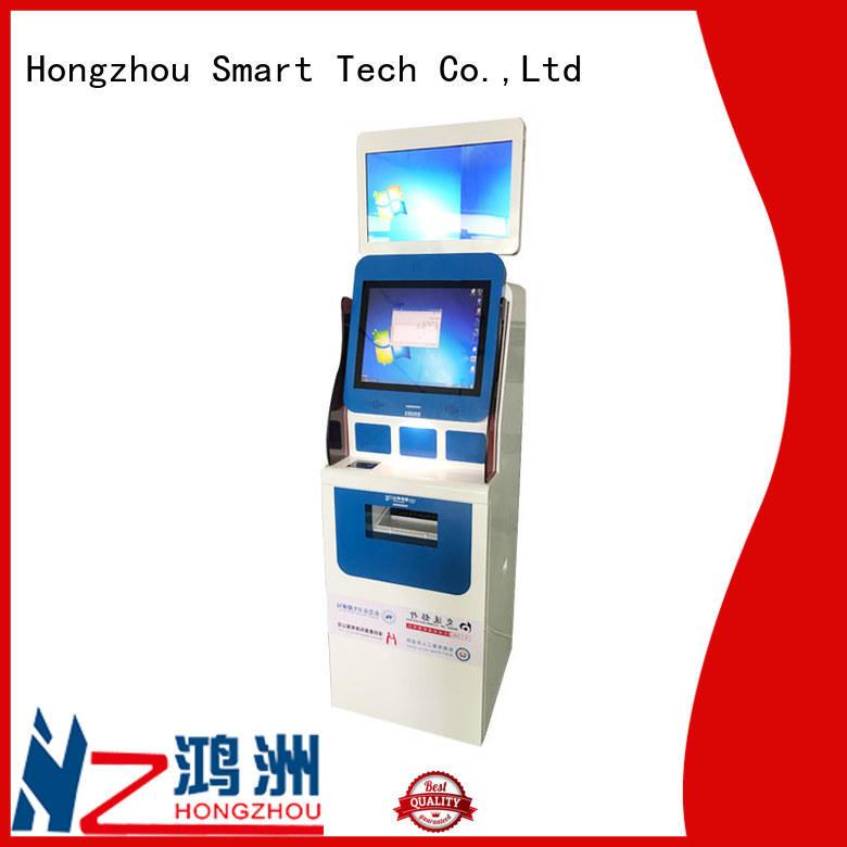 hospital kiosk operated in hospital
