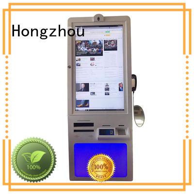 Hongzhou hospital check in kiosk company for sale