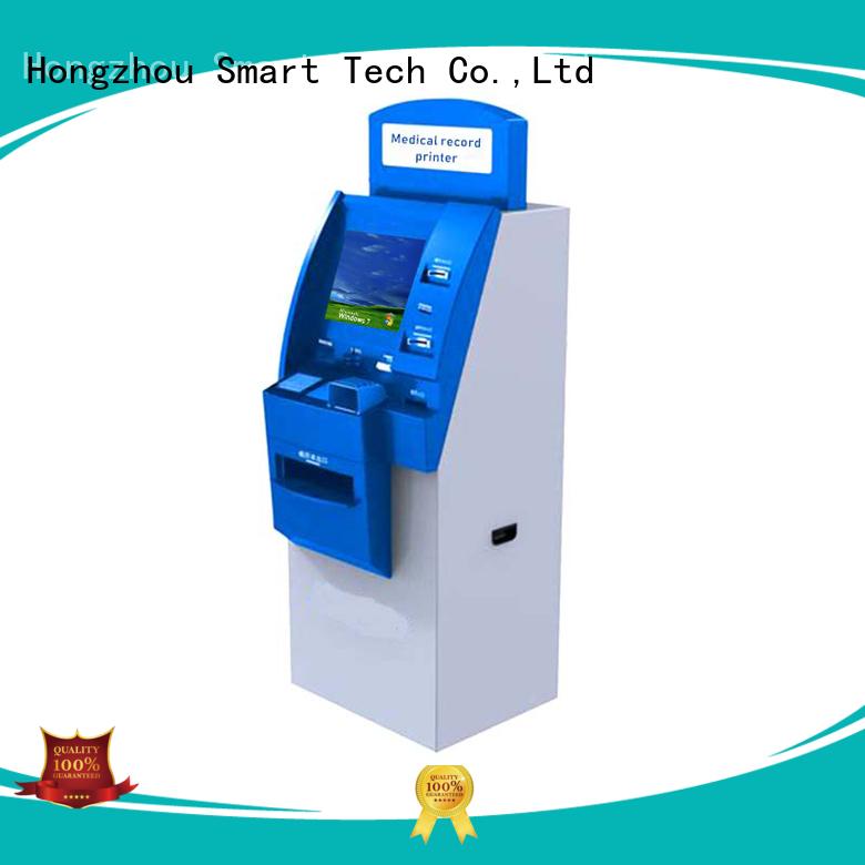 Hongzhou capacitive hospital kiosk manufacturer in hospital