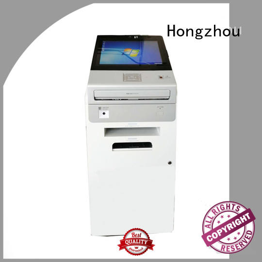 touch screen interactive information kiosk with printer for sale