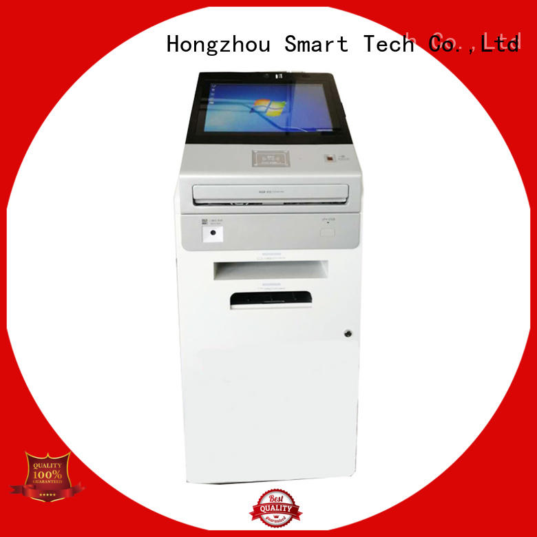 Hongzhou new digital information kiosk with camera in airport