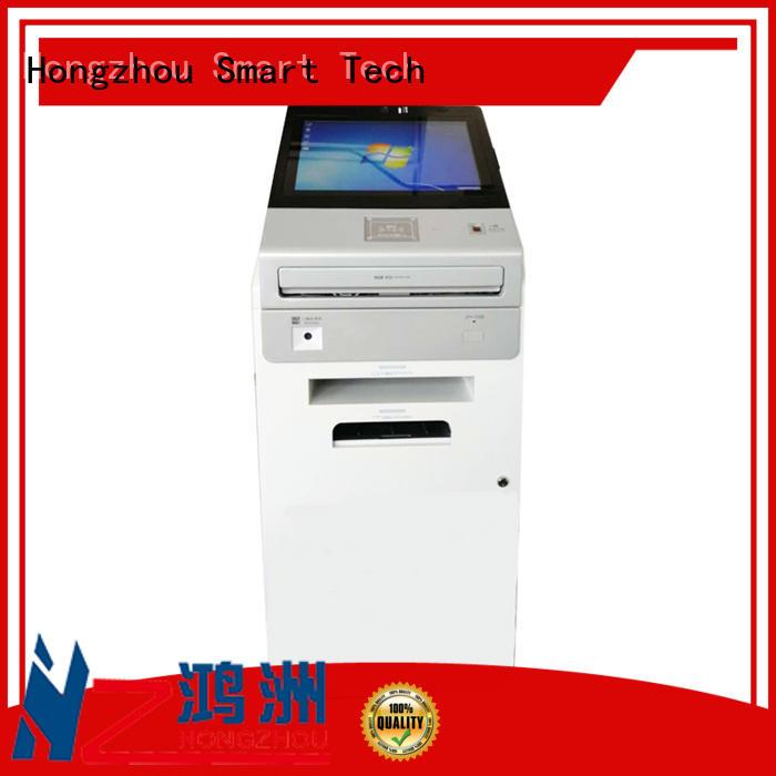 A4 printer bar-code card reader multi function self service kiosk in government