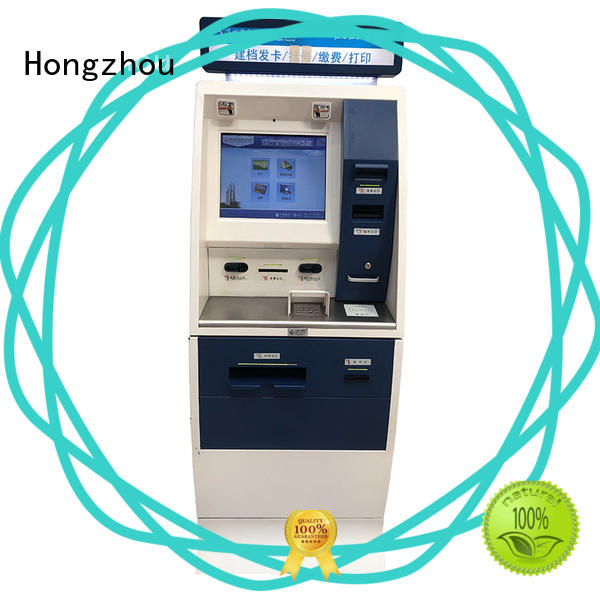 Hongzhou hospital check in kiosk for line up for patient