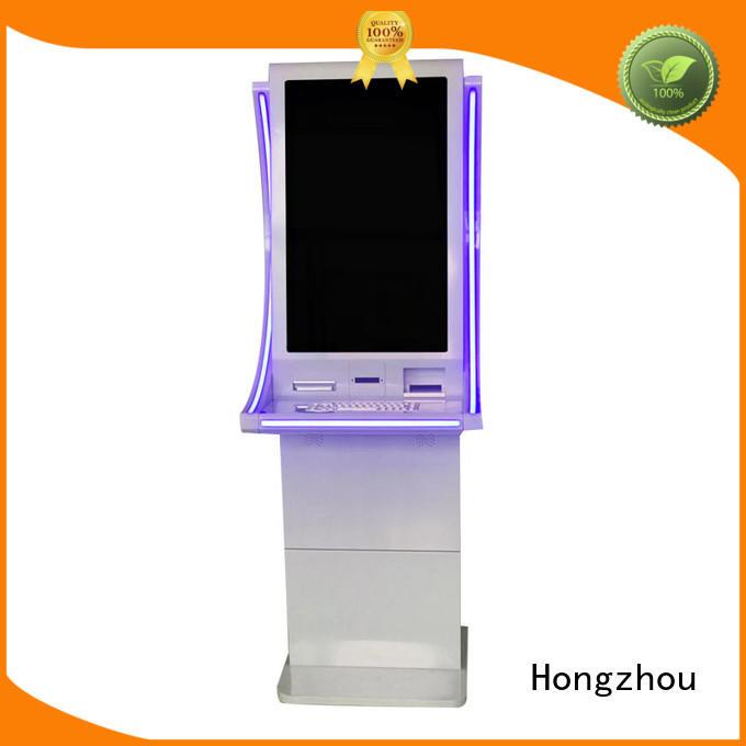 Hongzhou bill payment kiosk supplier for sale