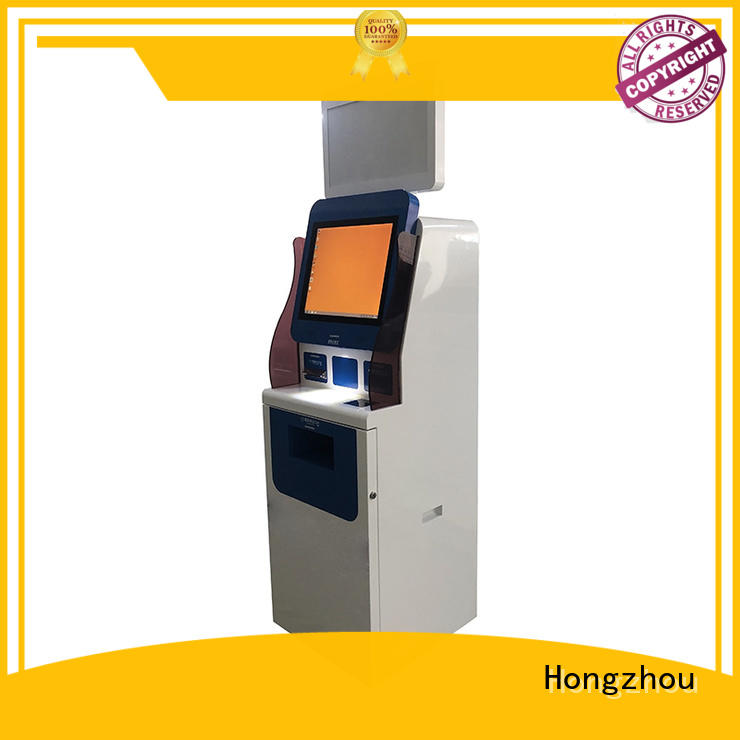 Hongzhou best patient check in kiosk key for patient