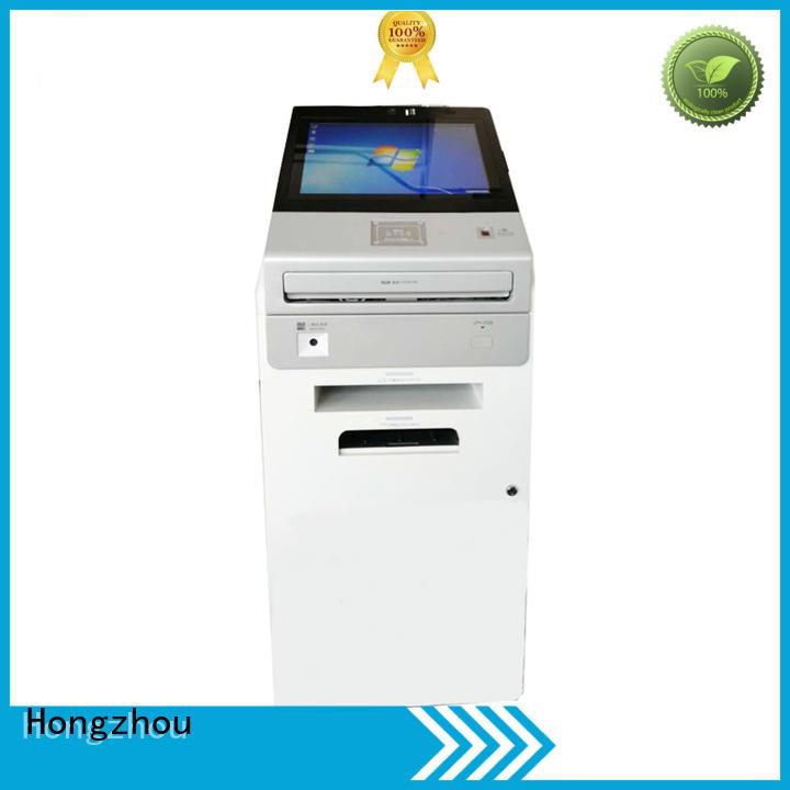 Hongzhou touch screen tourist information kiosk for sale