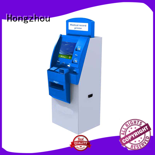 Hongzhou hospital check in kiosk for line up for sale