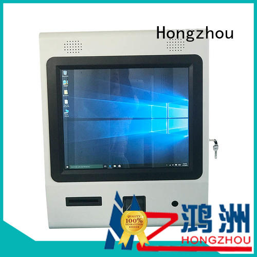 new information kiosk machine with printer for sale