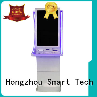 Hongzhou high quality payment machine kiosk for busniess in bank