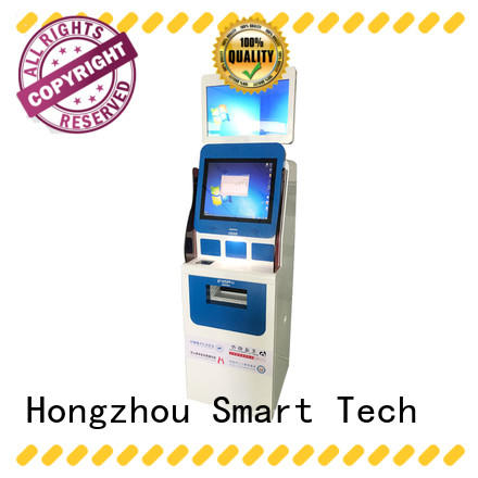 Hongzhou latest patient check in kiosk for line up in hospital