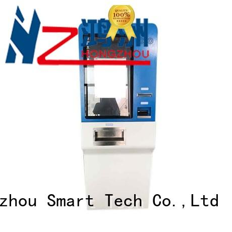 Hongzhou automated payment kiosk acceptor in bank