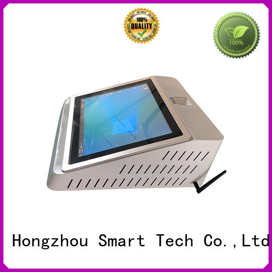 Hongzhou touch screen patient check in kiosk metal for sale