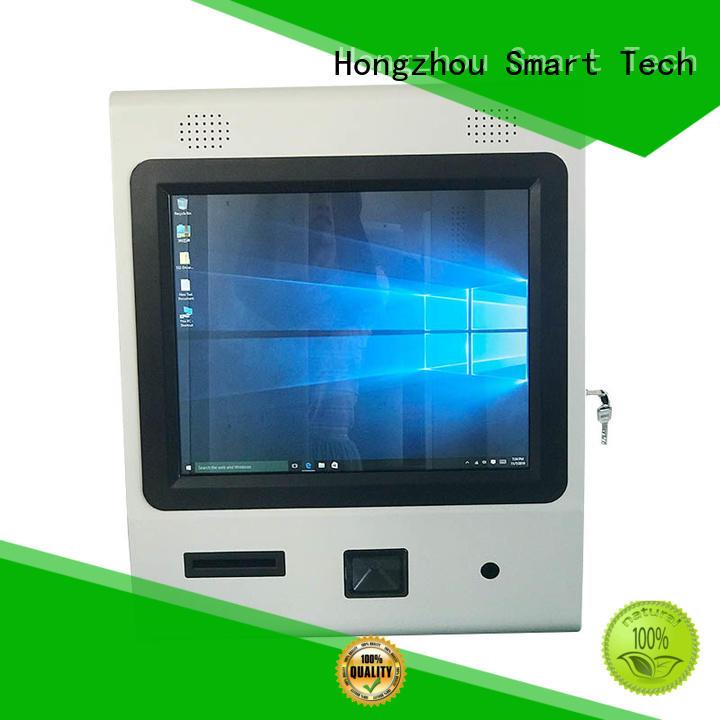 Hongzhou information kiosk machine with camera in bar