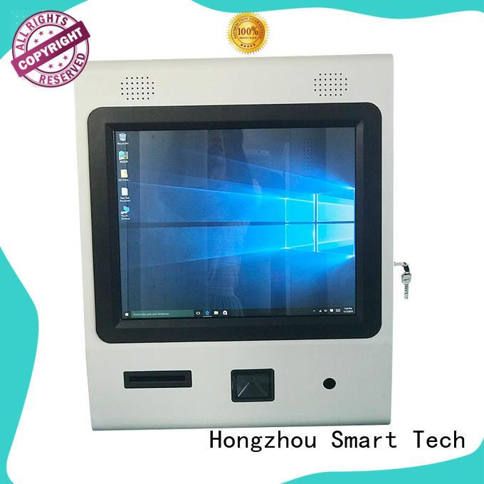 Hongzhou digital information kiosk with printer in bar