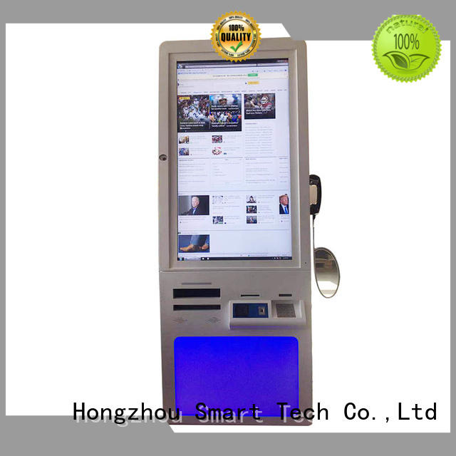 Hongzhou top hospital kiosk factory in hospital