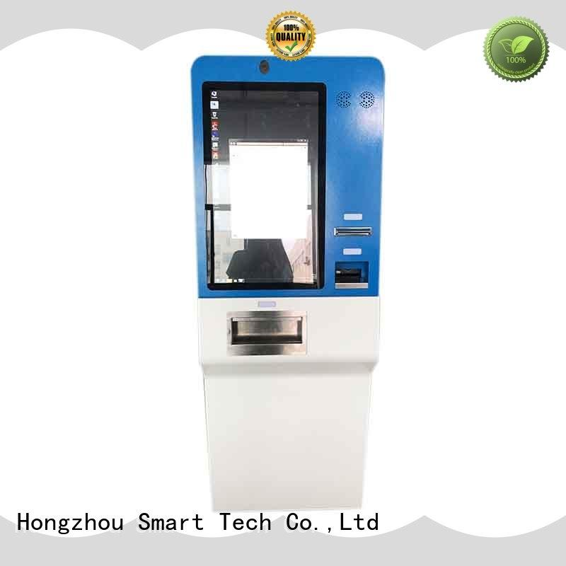 Hongzhou wall mounted automated payment kiosk machine in hotel
