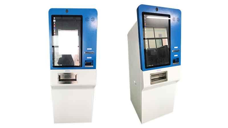 Hongzhou metal pay kiosk coated in hotel-1