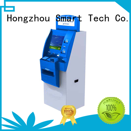 Hongzhou patient self check in kiosk for line up for patient