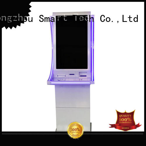 windows system payment kiosk manufacturer in bank