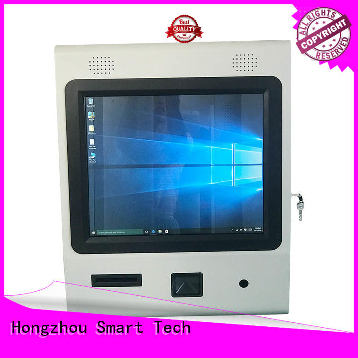 information kiosk machine with qr code scanning in airport Hongzhou