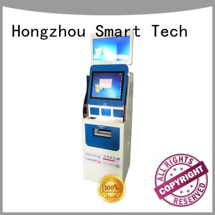 Hongzhou touch screen hospital check in kiosk hot sale for patient