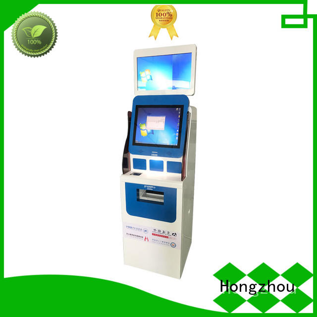 Hongzhou patient self check in kiosk for line up for sale