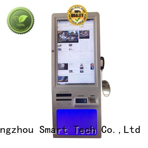 Hongzhou custom hospital kiosk metal in hospital