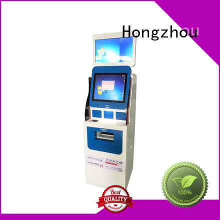 Hongzhou hospital check in kiosk metal for patient