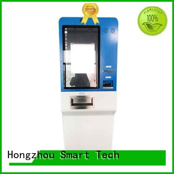 Hongzhou metal pay kiosk coated in hotel