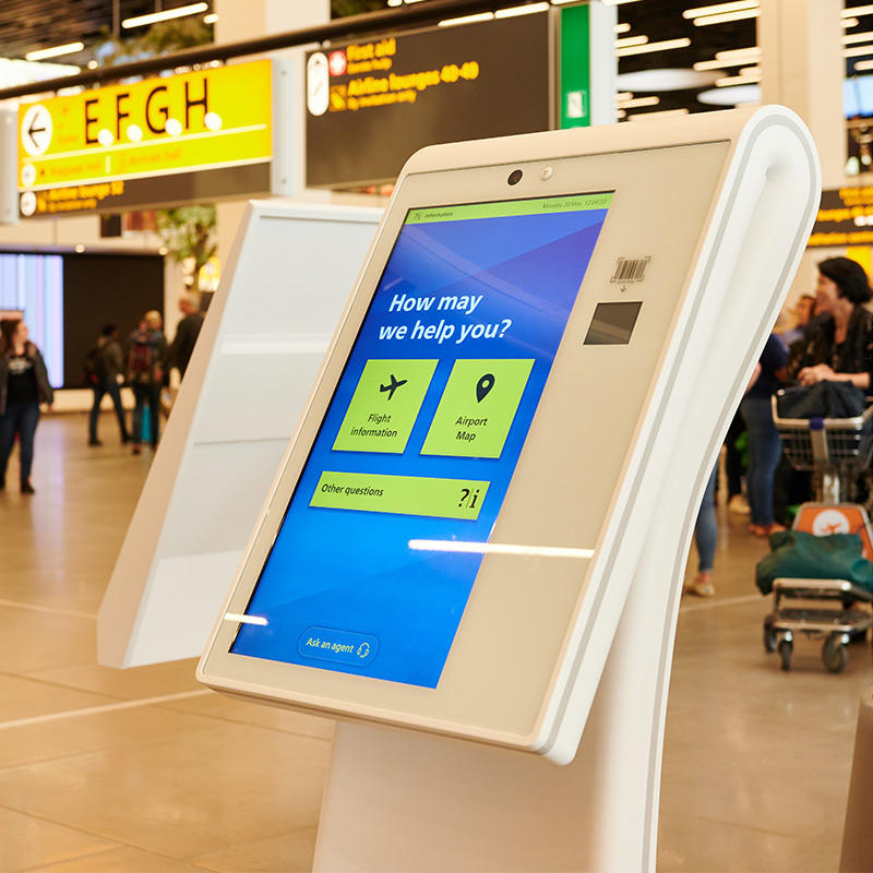 Hongzhou thermal information kiosk for busniess in airport-1