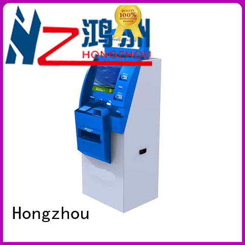 Hongzhou custom patient self check in kiosk for line up in hospital