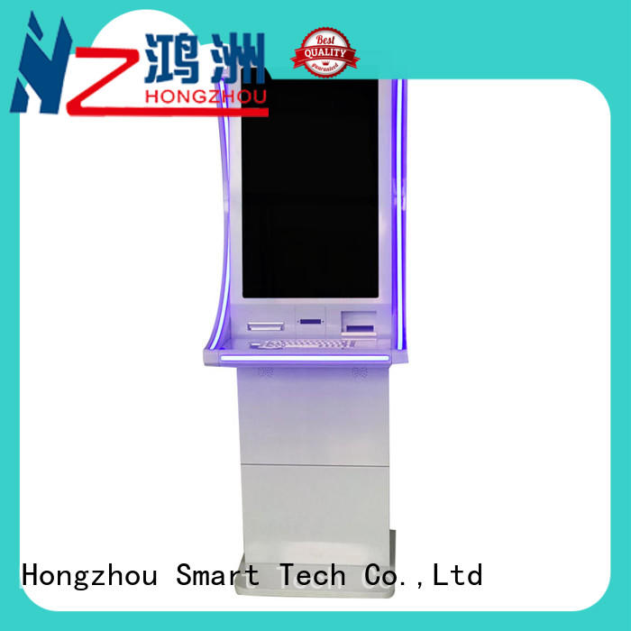 Hongzhou dual screen payment kiosk coated for sale