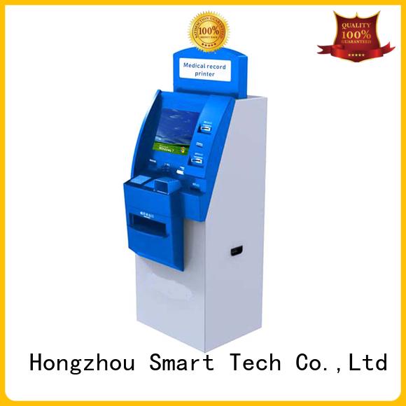 Hongzhou best hospital kiosk for line up for sale
